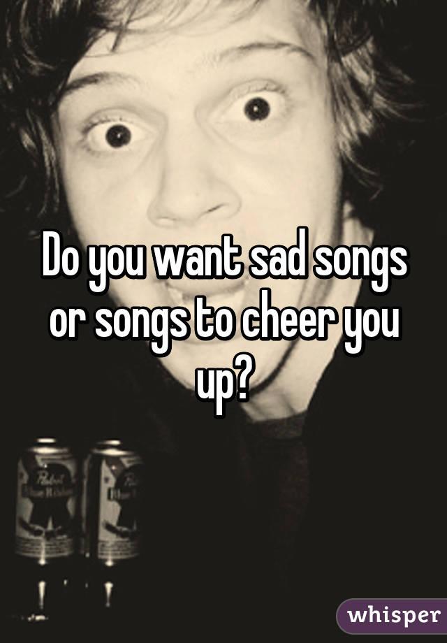 sad song do