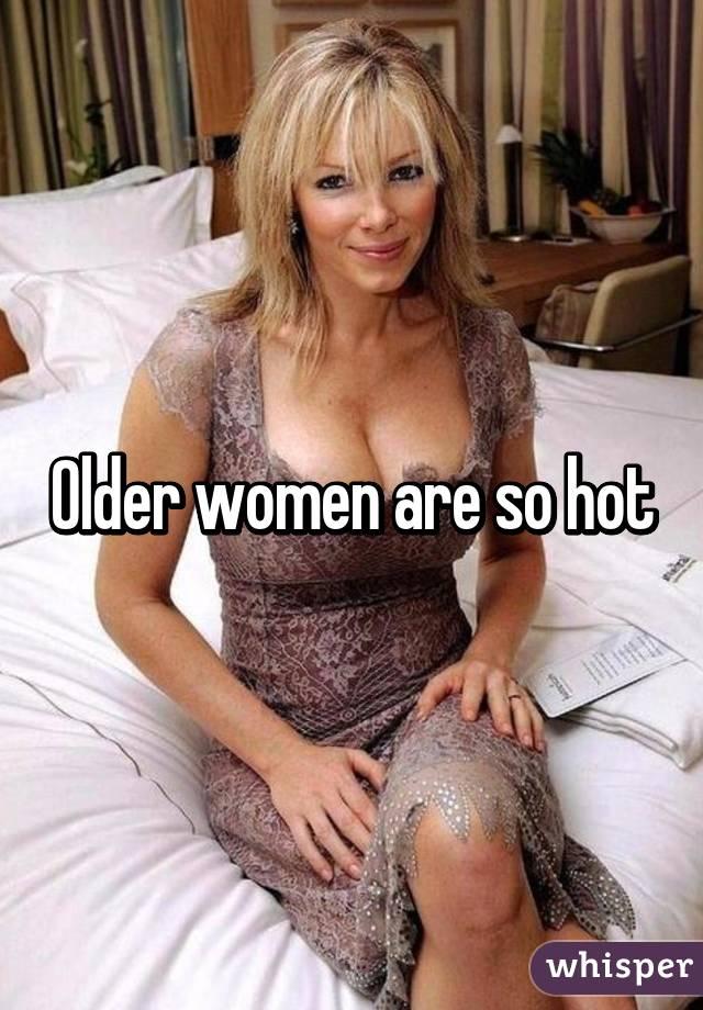 Really hot older women