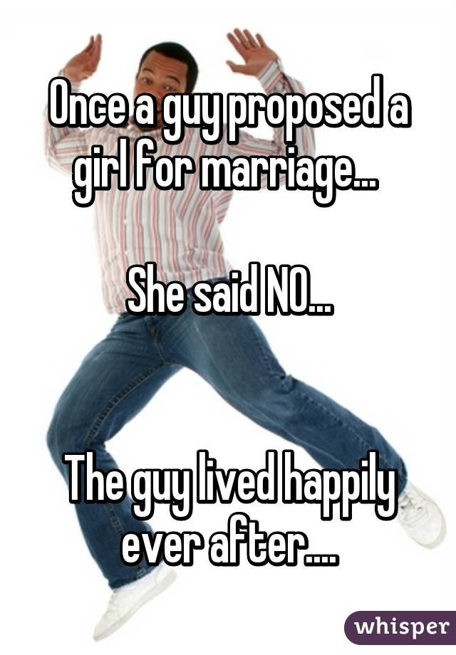 What to do after proposing a girl