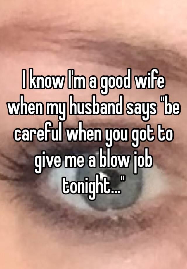 Get blow job tonight