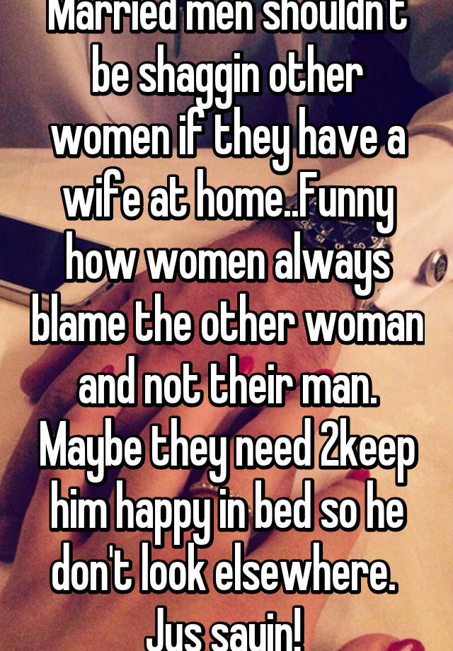 If a man looks at a woman