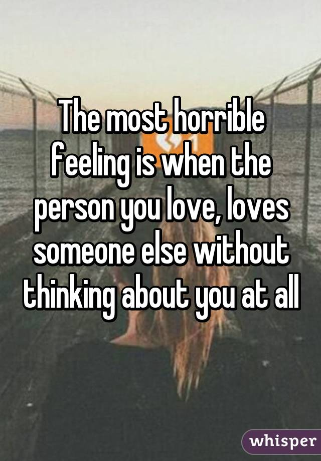 What To Do When Someone You Love Loves Someone Else