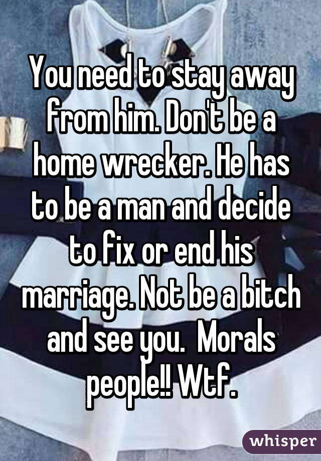 Marriage wrecker