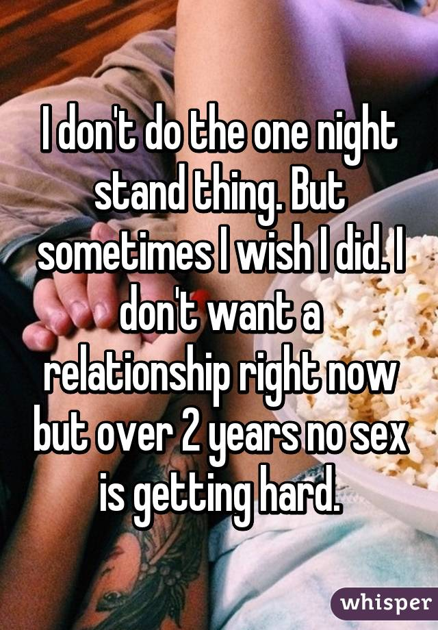 How to have a one night stand with a man