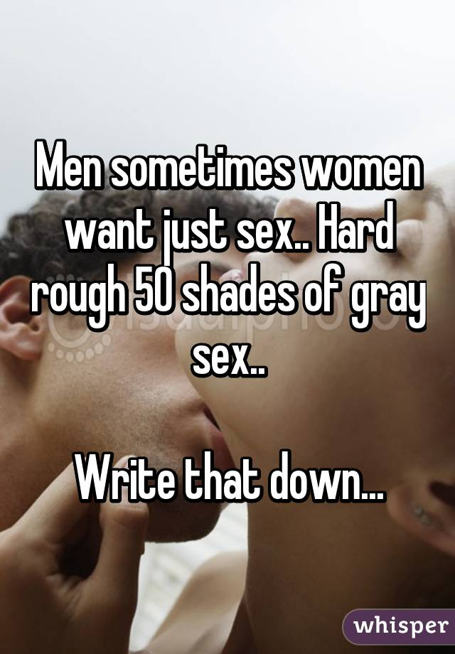 Writing about women who want sex
