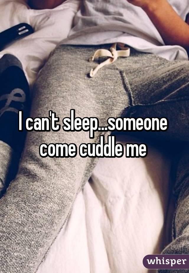 how come i cant sleep