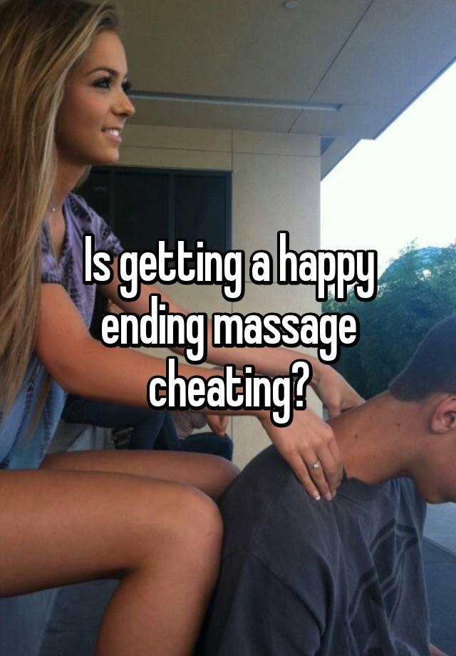 The female happy ending massage
