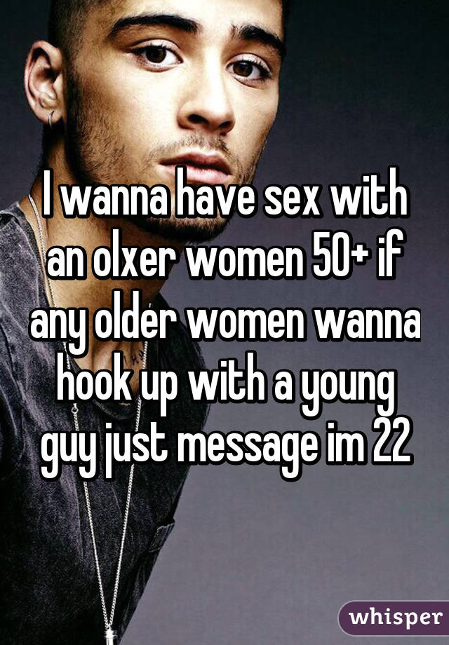 I am hookup an older woman