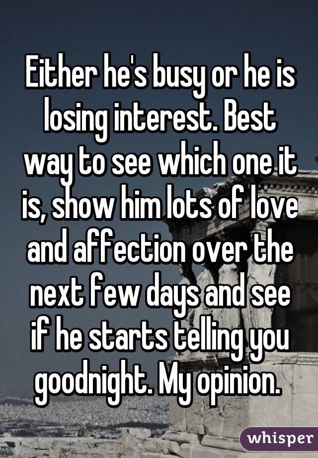 What To Do When He Starts Losing Interest