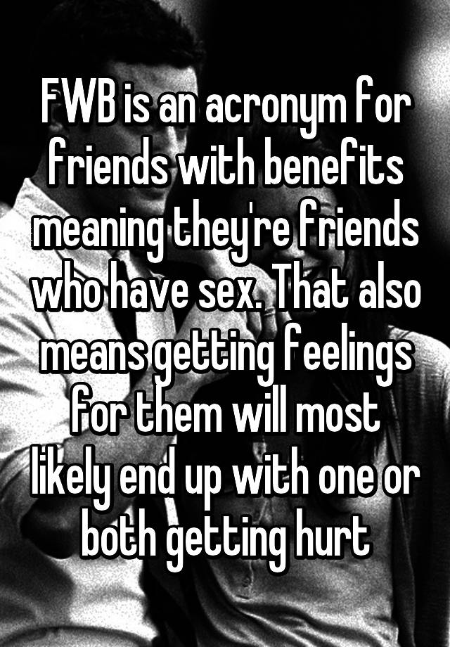 friends of benefits meaning