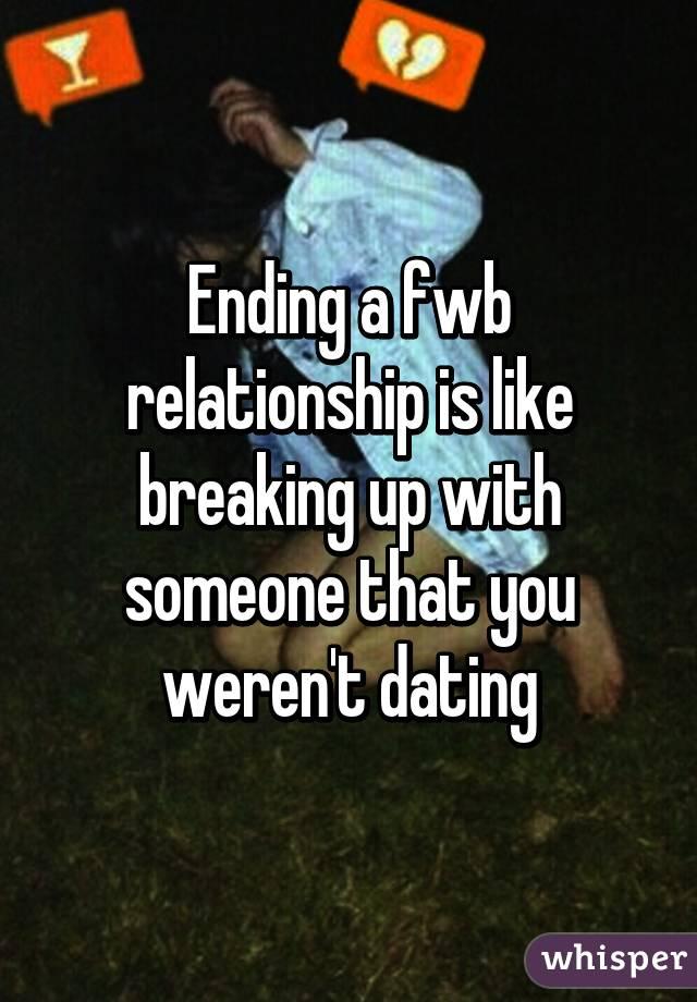 Ending fwb