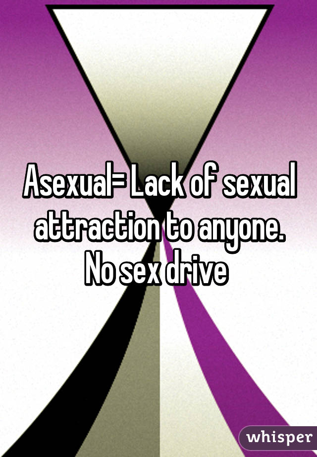 Drive lack sex