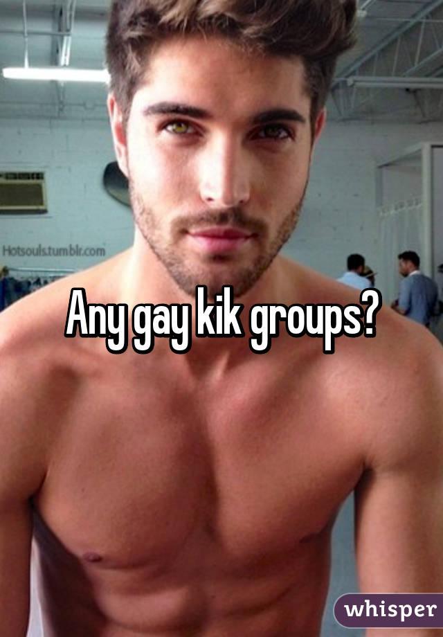 Gay male kik