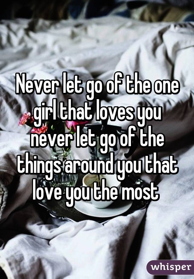 How to let go of the girl you love