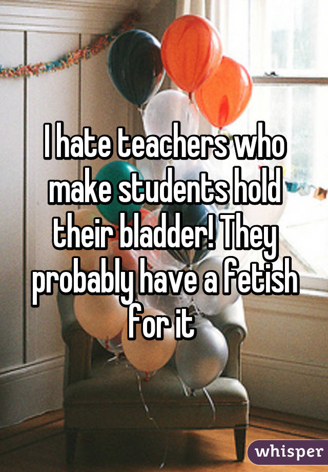 Bladder fetish