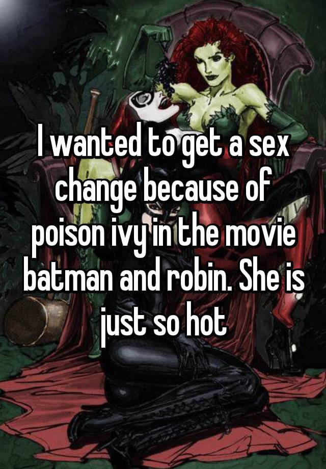 Baman robin sex change