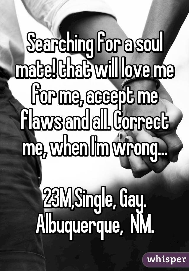 Am single and searching
