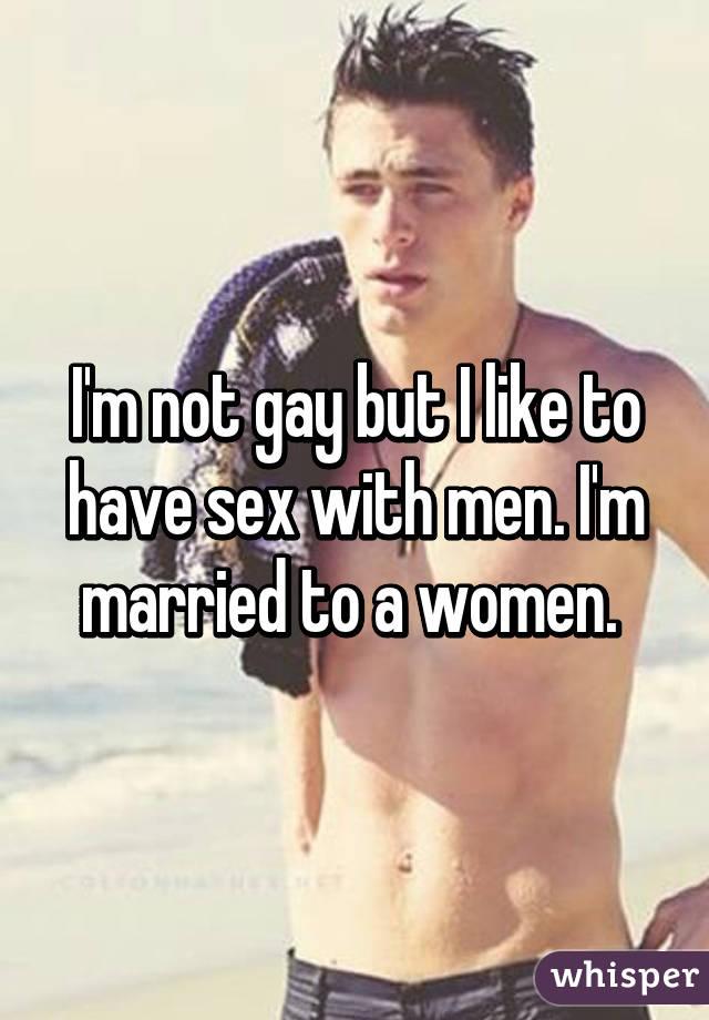 I need gay sex