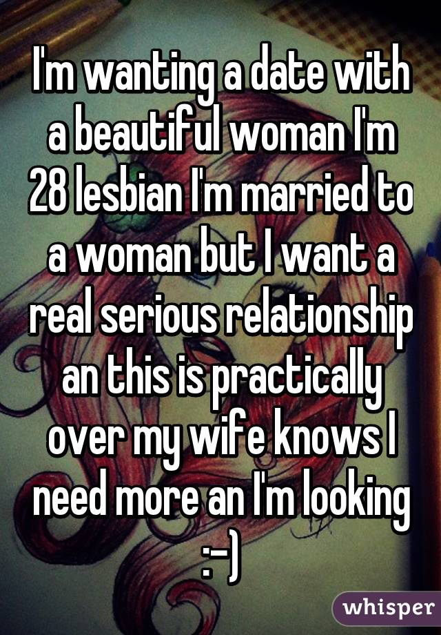 wanting a woman