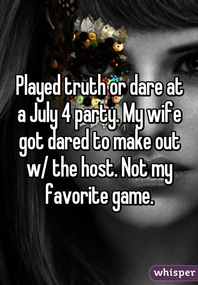 Wife truth or dare