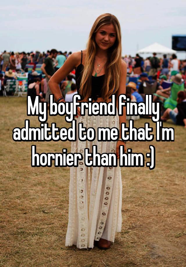 Why am i always hornier than my boyfriend