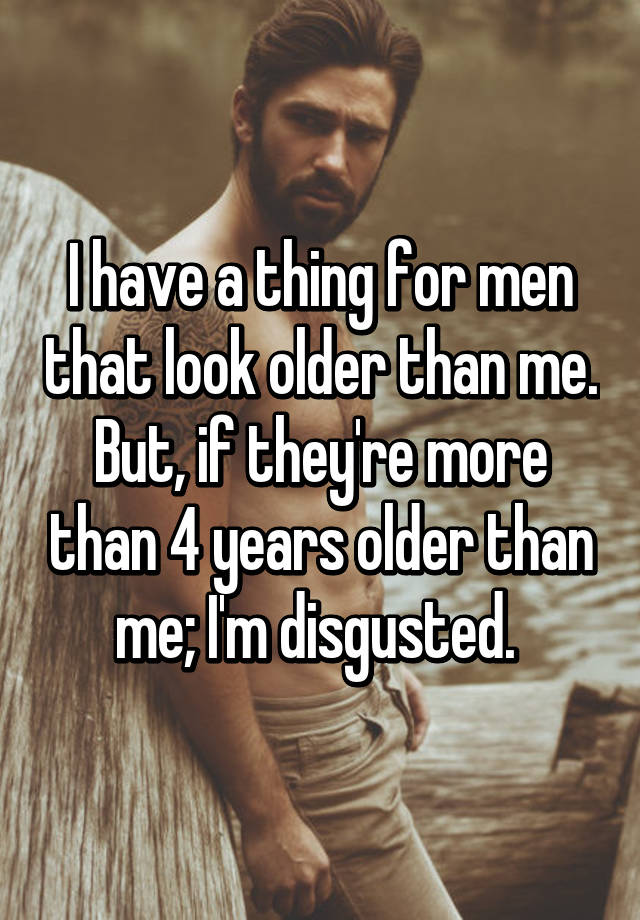 Dating a man 4 years older