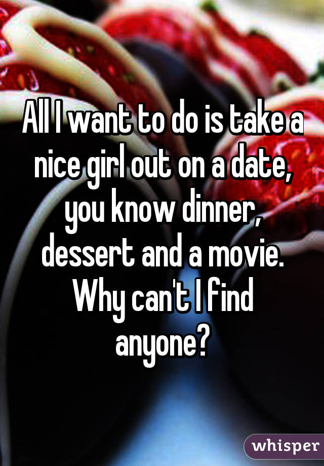 how to find a nice girl to date