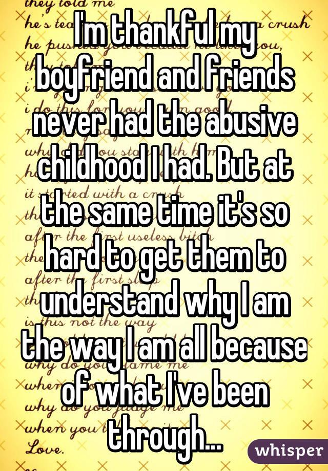 am i abusive to my boyfriend