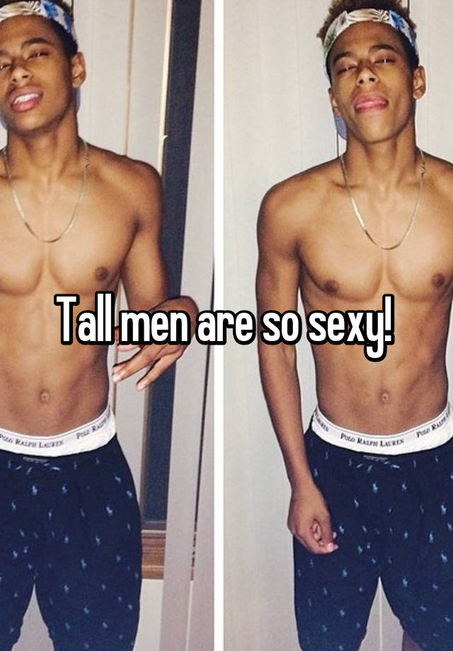 why are boys so sexy