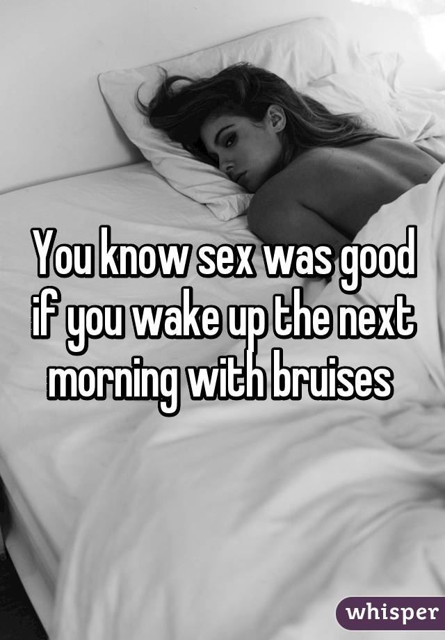 Can Wake up for sex