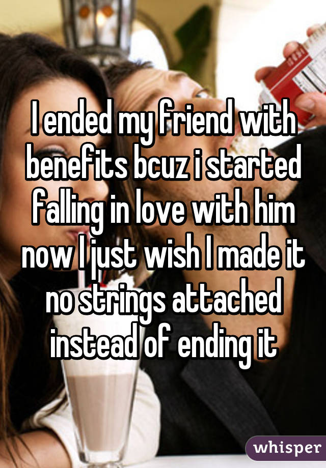 friends with benefits ending