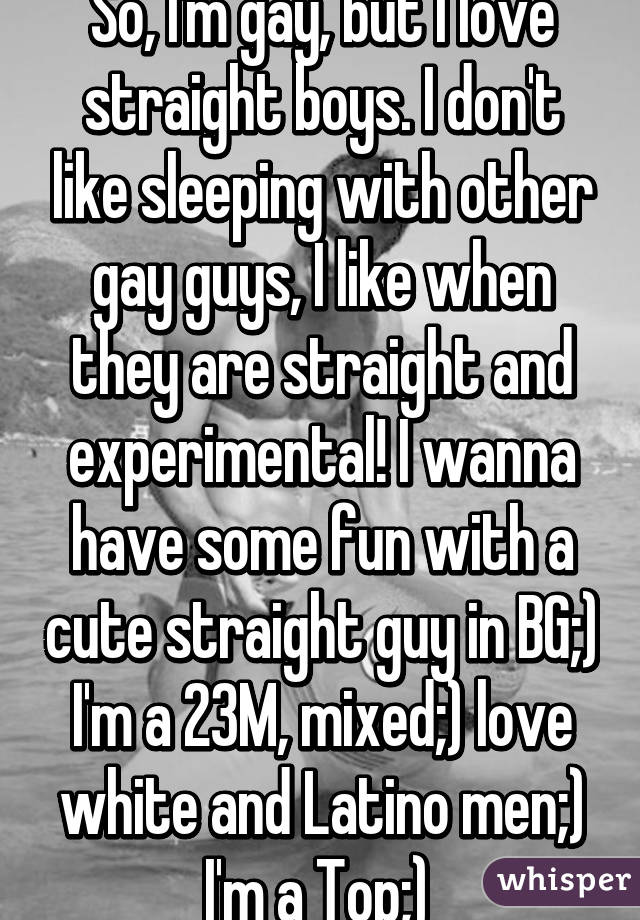 Gay Straight Boys Become Men