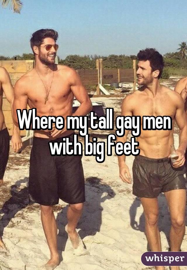 Big feet gays