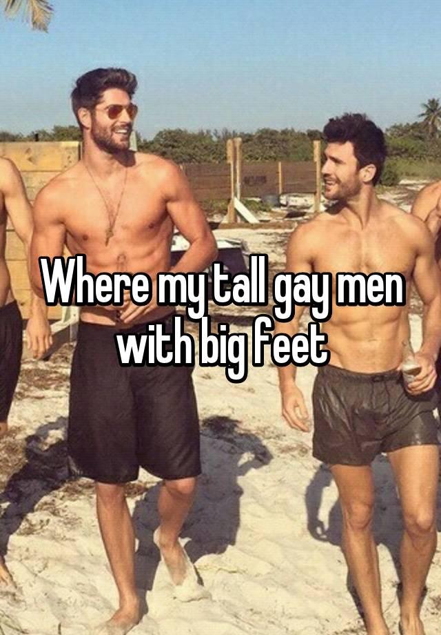 Gay men feet