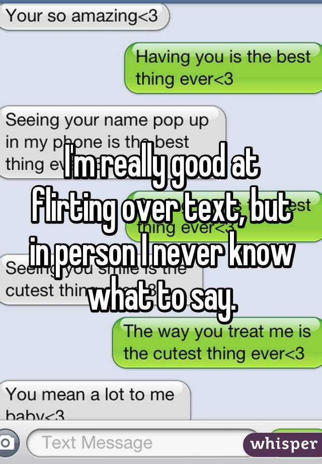 things to say when flirting