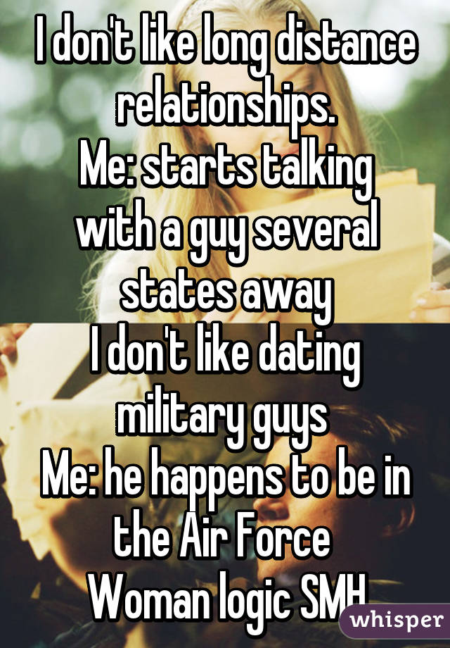 Dating A Military Chain Long Distance