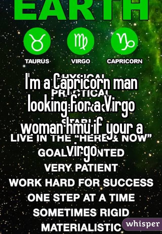Capricorn men and virgo woman