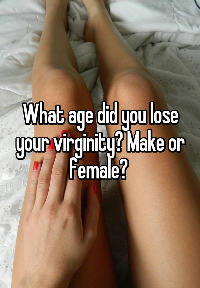 Authoritative did you lose your virginity agree