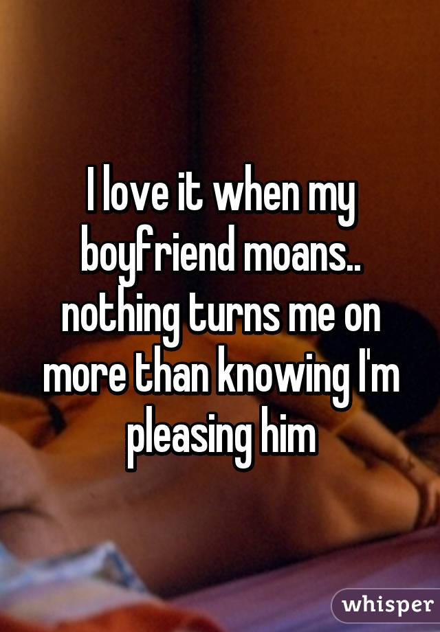 Loving Pleasing His Boyfriend