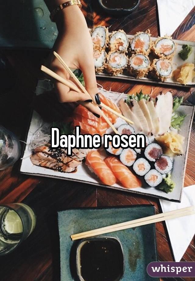 Daphne rosen pictures