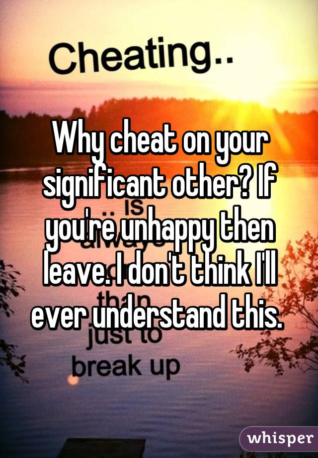 how to tell if your significant other is cheating