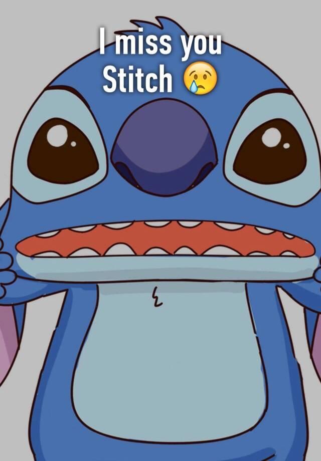miss you stitch