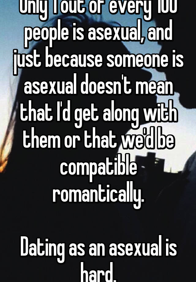 asexual person dating