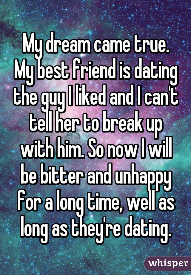 dream about dating guy friend
