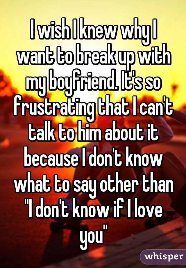 how do i know if i love my boyfriend