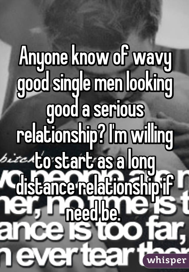 Looking for a good relationship