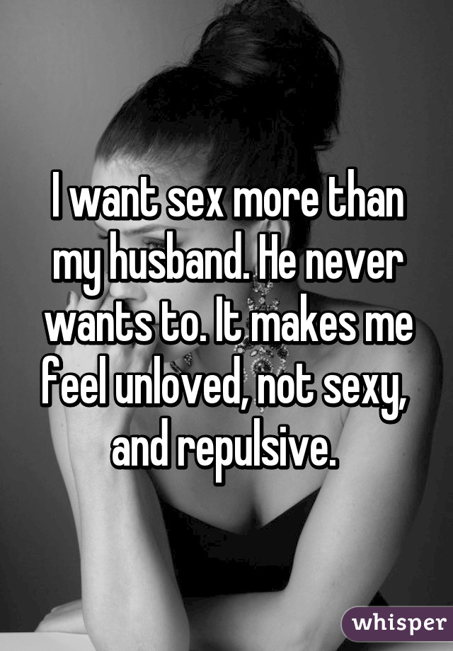 Why does my husband not want sex