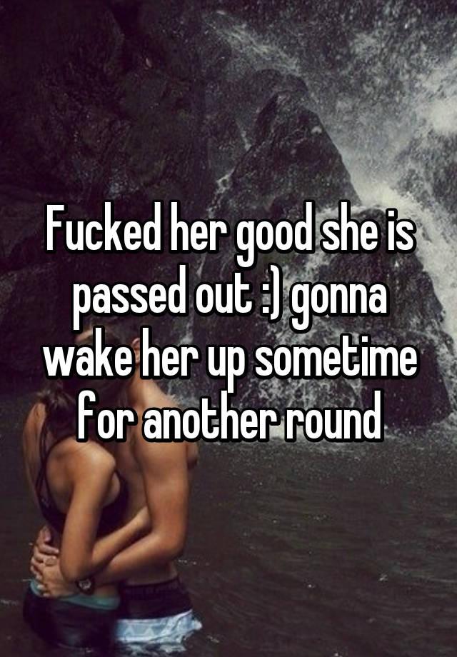 i fucked her good