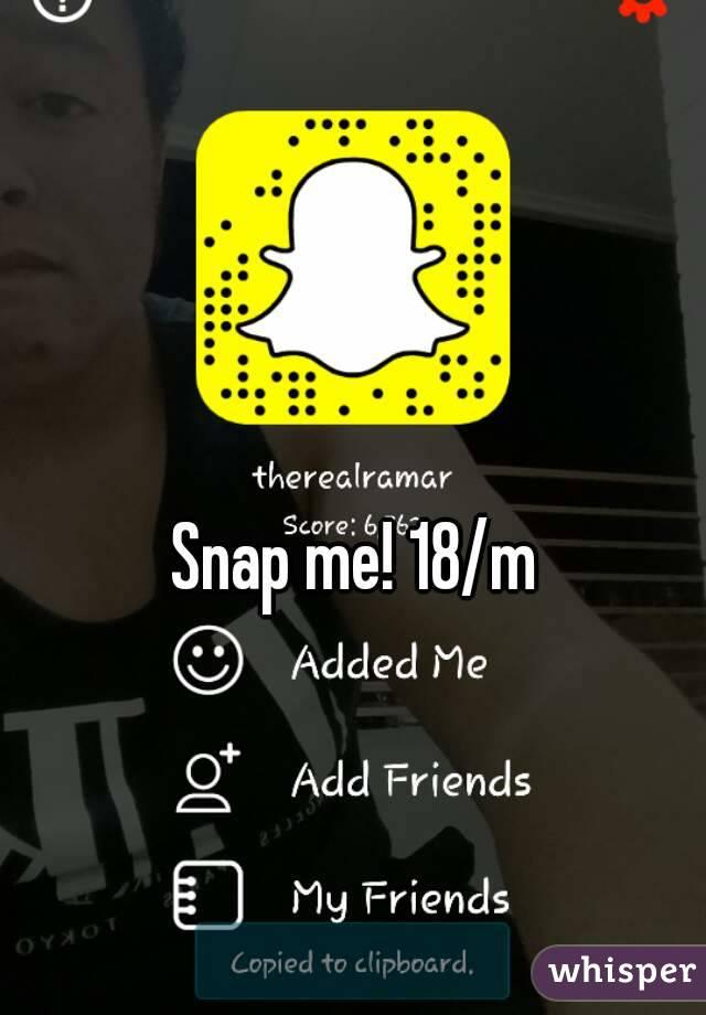 snap me 18