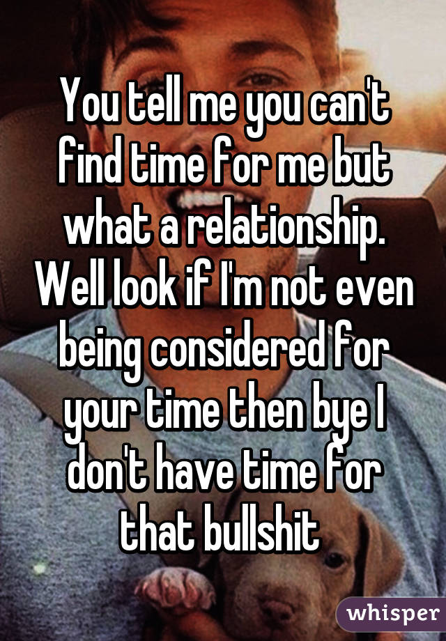can t find a relationship